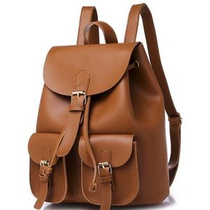 Handbags - Ladies/girls pu leather backpack